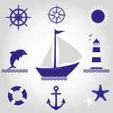 Set denni symbole Obrazy Stock