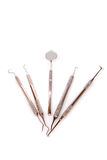 Set of dental tools Stock Images