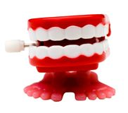 Set of dentures Stock Photo