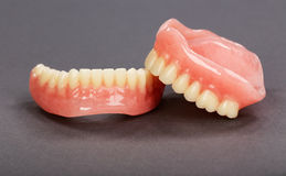 A set of dentures Royalty Free Stock Image