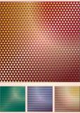 Set der abstrakten farbigen Hintergründe Lizenzfreie Stockbilder