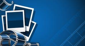 Set der Foto- und Videofilmabbildung Lizenzfreies Stockfoto