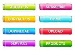 Set der Web-Ikone lizenzfreie abbildung