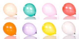 Set des Ballons stockfotos