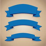Set des blauen Farbbands Stockbilder