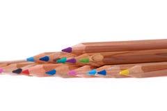 Set des Farbenbleistifts lizenzfreies stockfoto
