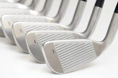 Set des Golfclubs. Lizenzfreies Stockbild