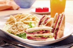 Set des Sandwiches lizenzfreie stockbilder