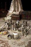 Set des türkischen Kaffees Lizenzfreie Stockfotos