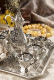 Set des türkischen Kaffees lizenzfreie stockfotografie