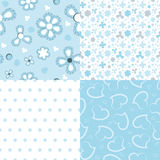 Set of  design for a baby boy Stock Image