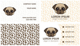 Set design for the decoration of a small veterinary clinic, kennel, breeder, animal shelter. Vector set design for the decoration of a small veterinary clinic royalty free illustration