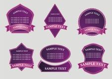 Set of design element Stock Image