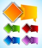 Set of design element Stock Images