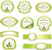 Set of design element Royalty Free Stock Photography