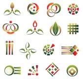 Set of design element Royalty Free Stock Photos