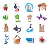 Set of design elements. Royalty Free Stock Image