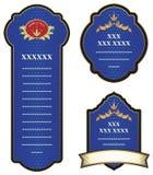 Set of design elements. Royalty Free Stock Photo