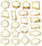 Set of design elements Stock Photo