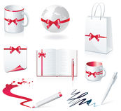 Set of design elements Stock Images