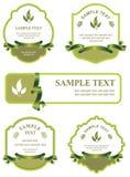 Set of design elements Stock Photos