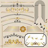 Set design elements. Royalty Free Stock Photos