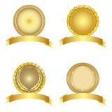 Set of design elements. Stock Image