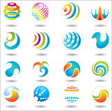 Set of design elements . Stock Photography