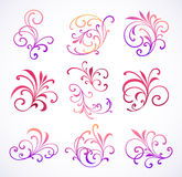 Set of design elements Royalty Free Stock Photography