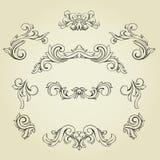 Set of design elements. Royalty Free Stock Photos