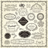 Set of design elements Royalty Free Stock Image