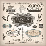 Set of design elements royalty free stock image