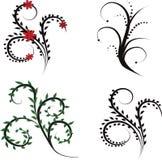 Set of design elements Stock Photo