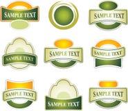 Set of design elements Stock Image