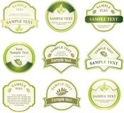 Set of design elements. Stock Images