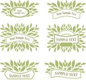 Set of design elements Stock Images