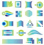 Set of design elements Stock Image