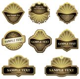 Set of design elements Royalty Free Stock Photos
