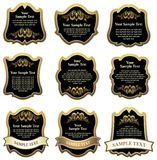 Set of design elements. Stock Images