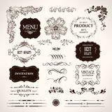 Set of  design elements Royalty Free Stock Images