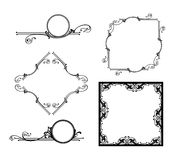 Set of  design elements and frame Stock Photo