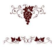 Set design elements -- grape Stock Photography