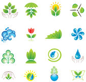 Set of design elements and icons. Stock Image