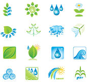 Set of design elements and icons. Stock Photo