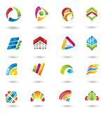 Set of design elements or icons. Royalty Free Stock Photo