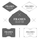 Set of design elements. Royalty Free Stock Image