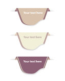 Set Of Design Labels and Banners. Vector Stock Photos