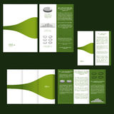 Set of design template with flyer, poster, brochure. For advertising, corporate identity, business, and other printing products. Stock Photography