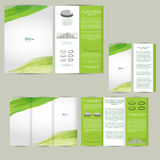Set of design template with flyer, poster, brochure. Royalty Free Stock Photo