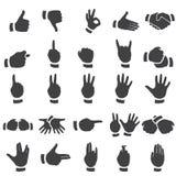 Set of desture icons Stock Photo